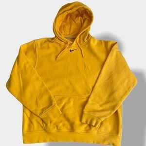 Nike Travis Scott Center Swoosh Mustard Hoodie